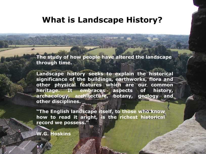What Is Landscape History